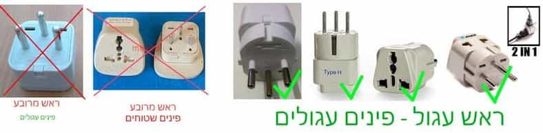plug type H israel