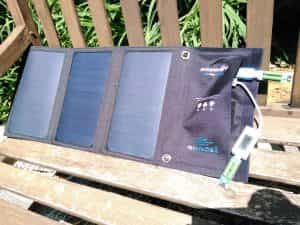 Solar panel blitzwolf 2 loads