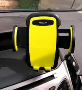 Rock phone stand car dashboard 2