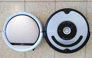 iLife V5s vs iRobot 560 up