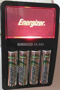 energizer AA nimh batteries and charger