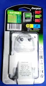 energizer AA nimh batteries and charger back