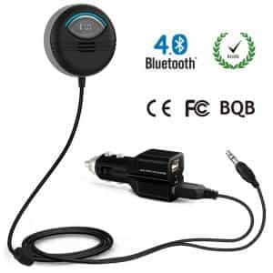 Bluetooth Car Kit built in Isolator for Noise Cancelling with FCC CE ROHS BQB 1