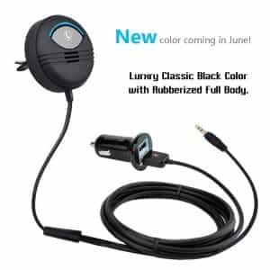 noise cancelling 2016 latest version AUX bluetooth car kit 1