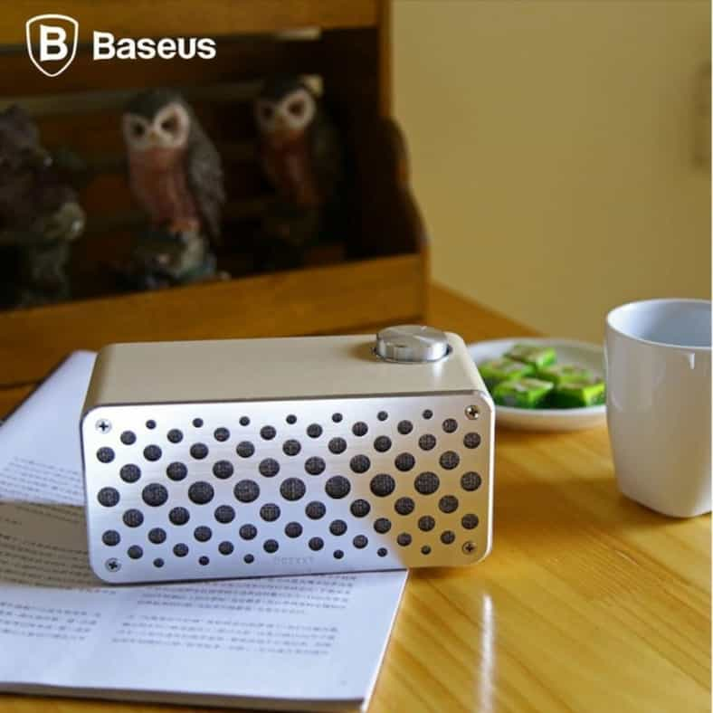 BASEUS Brand Forsic Series Stereo Sound Aluminum Wood Wireless Bluetooth Speaker Portable Mini Speakers For iPhone.jpg 640x640