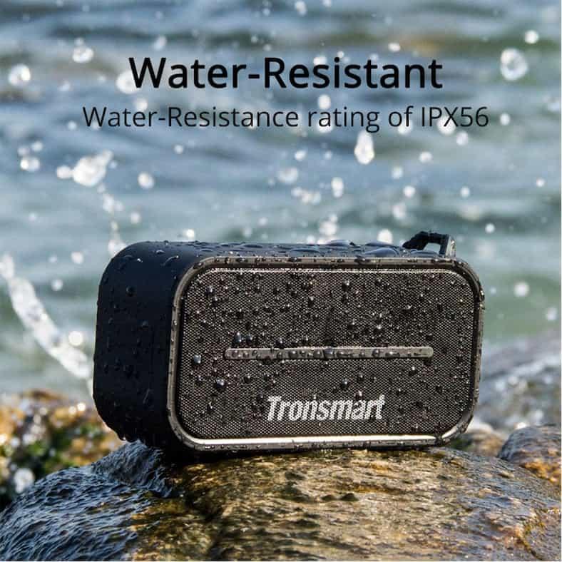 Tronsmart Element T2 Bluetooth 4 2 Outdoor Water Resistant Speaker Portable and Mini Speaker Black