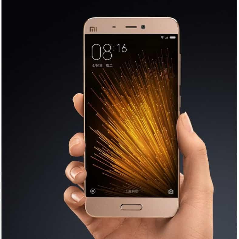 xiaomi mi5 pro 4gb 128gb gold