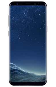 galaxy s8 plus gallery front black s4