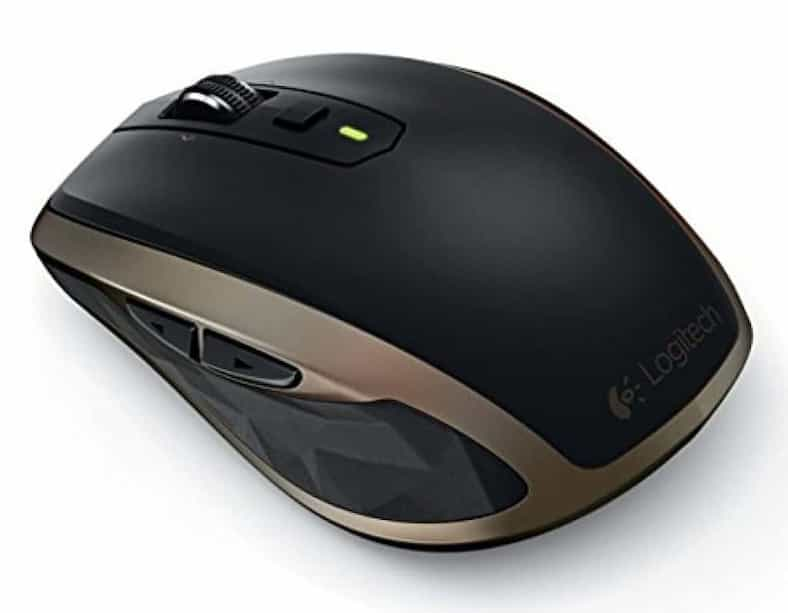 mx anywhere 2 wireless mouse black