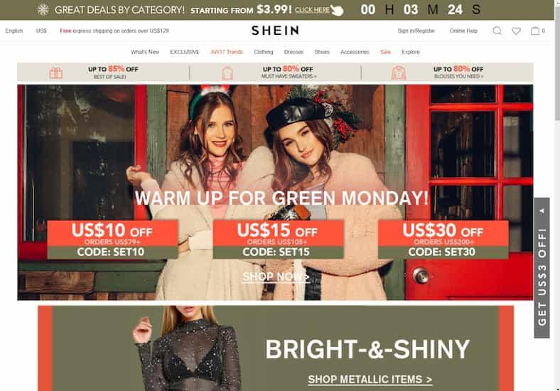 הכירו את האתר: Shein