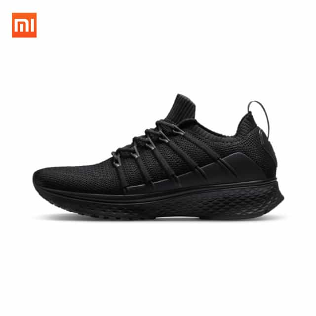 2018 Original Xiaomi Mijia Sports ShoesSneaker 2 Uni Moulding Techinique New Fishbone Lock System Elastic