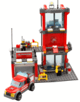 2018 08 14 13 13 33 Aliexpress.com Buy KAZI 8052 City Fire Station 300pcs Building Blocks Compatib