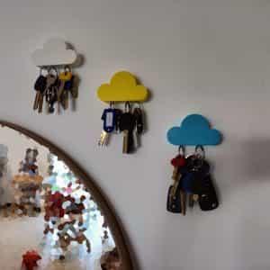 magnet cloud keys holder 2