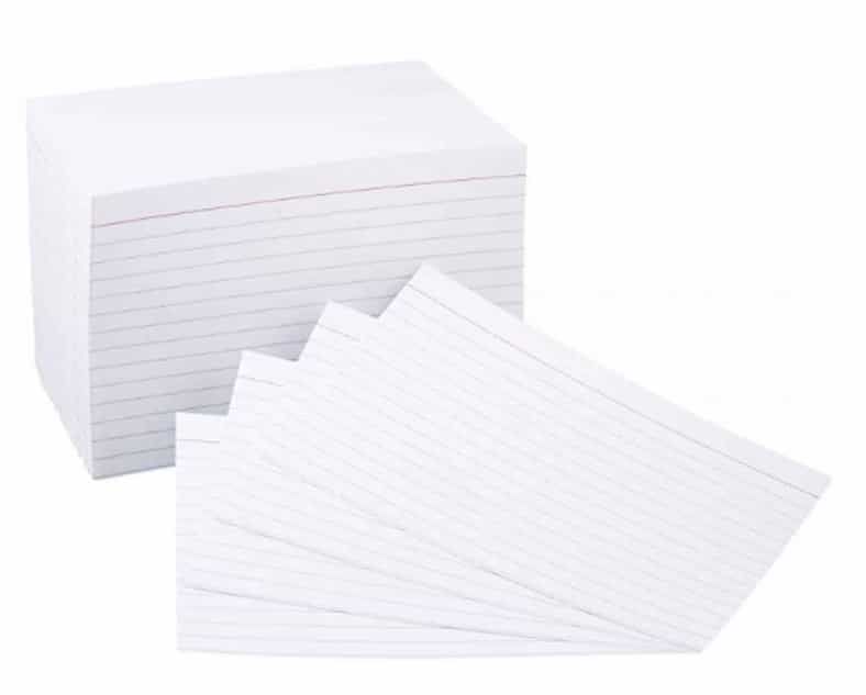 2018 10 25 17 25 54 Amazon.com AmazonBasics 4 x 6 Inch Ruled White Index Cards 500 Count Office