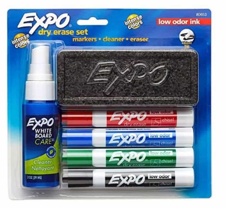 2018 10 25 17 37 12 Amazon.com EXPO 80653 Low Odor Dry Erase Set Chisel Tip Assorted Colors 6 P