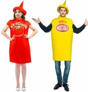 2018 11 13 11 47 45 2018 New customized free size tomato ketchup Costume spicy mustard Costume With