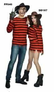 2018 11 13 12 02 38 New arrivals Freddy killer costumes with claw halloween costume women dress man