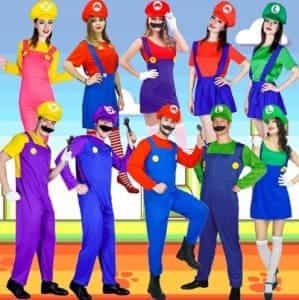 2018 11 13 12 54 52 Aliexpress.com Buy Adult Super Mario Party Costumes Role Play Women Mario Dres