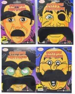 2018 11 19 09 17 38 4PCS Pirate Wholesale Beard And Mustache Christmas Self Adhesive Set Fake Mustac