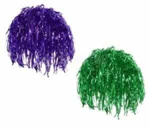 2018 11 19 09 29 56 2 Pieces Adults Festival Green Purple Metallic Foil Tinsel Wigs Hat Unisex Dress