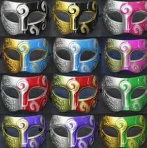 2018 11 15 10 58 21 Fashion Colorful Men Prince Jazz Masks Masquerade Plastic Mask Halloween Pumpkin