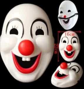 2018 11 15 12 15 56 New Hot Halloween Masquerade Clown Mask Cartoon Cosplay Mask Childrens Holiday
