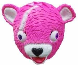 2018 11 15 14 26 44 Fortnight Toys Pink Bear Team Leader Skin Head Latex Mask for Kid Cosplay Animal