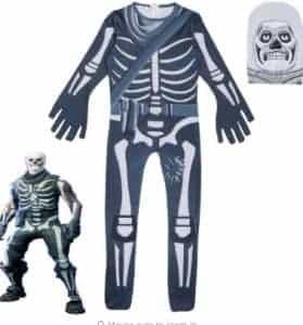 2018 11 15 14 34 50 Halloween Kids Boys Girl Fortnite Skull Trooper Cosplay Costume Clothes Casual o