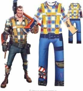 2018 11 15 14 35 04 Kid Boys Battle Royale Gamer Cosplay Costume Boy Soldier Cowboy Jumpsuit Hallowe