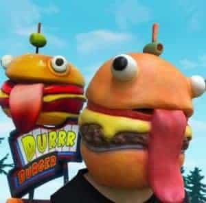 2018 11 15 14 43 51 Game Fortnite The Hamburger Beef Boss Mask battle royale Halloween Chrismas Xmas