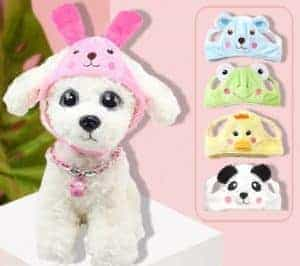 2018 11 21 13 06 00 New pet dog hat cute zoo change cap wigs Teddy pet dog personality cute hat in D