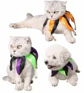 2018 11 22 11 51 01 New Adjustable Soft Pet Halloween Clown Collars Pet Holiday Dress Up Dog Cat Sti
