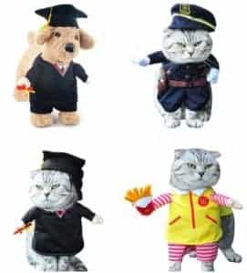 2018 11 22 11 57 24 Funny Pet Costume Dog Cat Costume Clothes Cowboy Dress Apparel Doctor Policeman