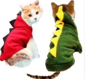 2018 11 22 12 08 42 Warm Cat Clothes Pet Dog Costume Suit Halloween Dragon Clothing For Cat Hallowee