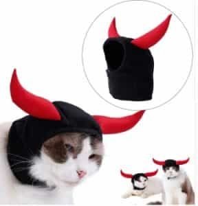 2018 11 22 12 10 37 1pc Head Cover For Dog Cat Hat Cosplay New Halloween Teddy Puppy Kitten Horn Tur