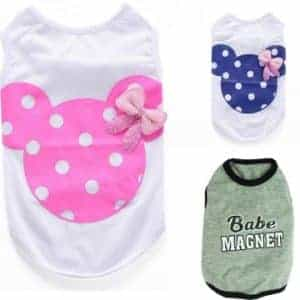2018 11 22 12 18 57 Cute Pet Dog Cat Shirt Summer Breathable Vest For Cats Small Dogs Fashion Letter