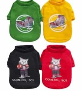 2018 11 22 12 19 32 Pet Clothing for Cat Clothes for Cats Warm Clothes for Small Cats Clothing Chihu