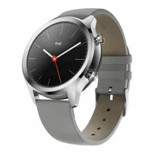 TicWatch C2 Smartwatch Wear OS by Google Platinum 821179