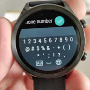 ticwatch c2 answer keys