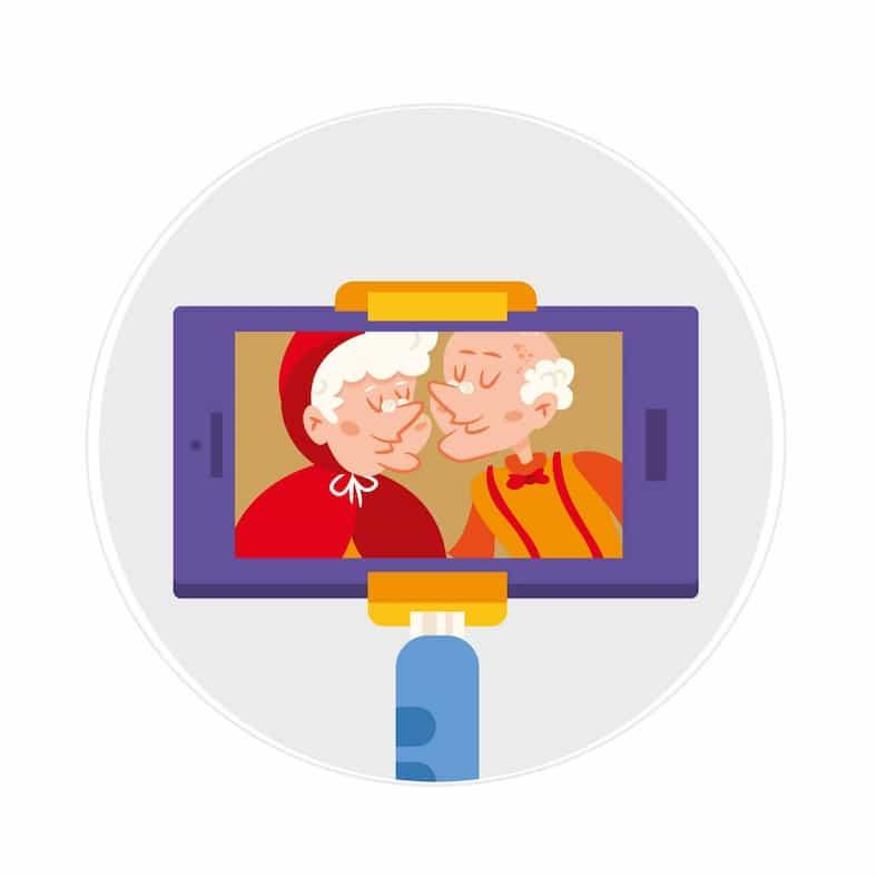 מדריך ליל הסגר! – מדריך קצר איך לחבר את סבא/סבתא לוידאו ולחגוג יחד!