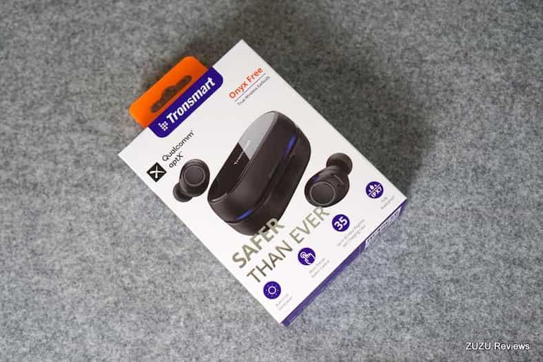 Tronsmart Onyx Free – האוזניות שמנקות את עצמן!
