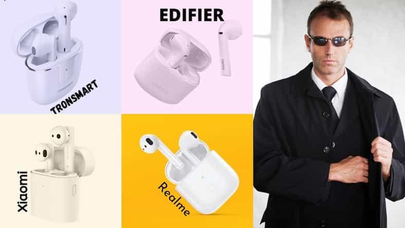 האיירפודס קילרס! סקירת השוואה – Xiaomi vs Tronsmart vs Edifier vs Realme vs Apple!