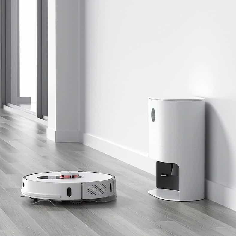 ROIDMI EVE PLUS – שואב רובוטי עם עמדת ריקון עצמי (מהזולים בעולם!)